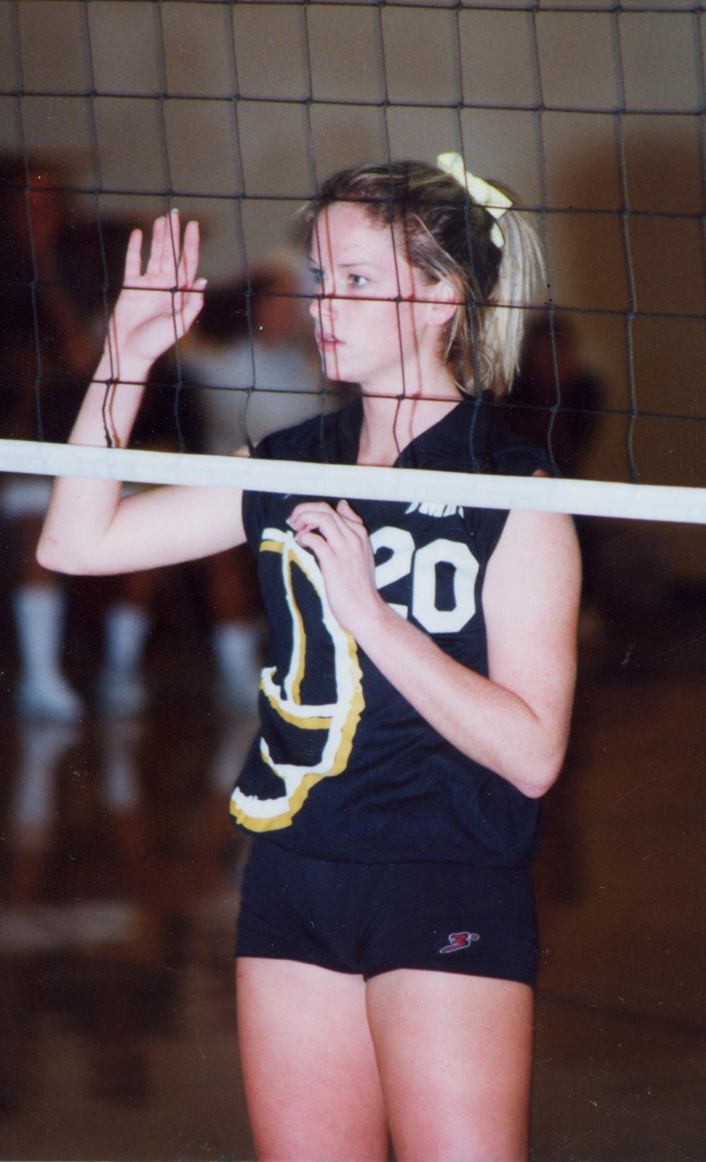 Played at Bishop Montgomery High School and was an Outside Hitter -