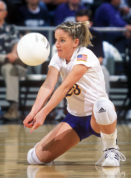 She was an All-American Libero at UCLA -
