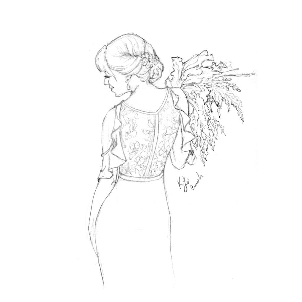 WhiteWrenBrideCarrot_Sketch.png