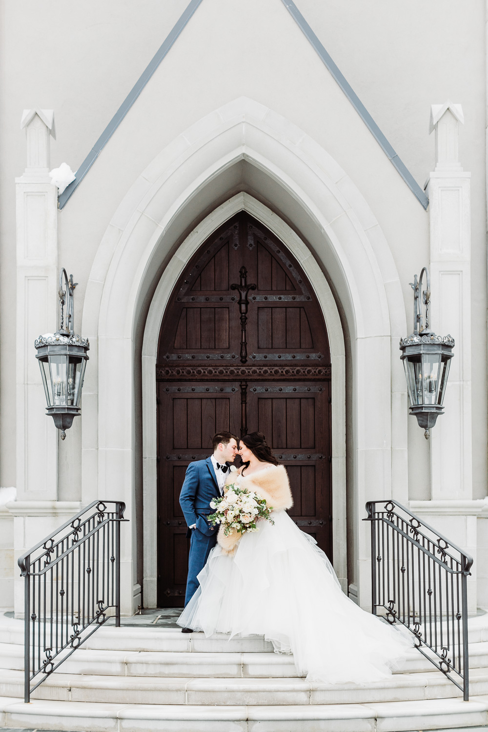 Winter Park Chateau Wedding in New Jersey.  Blushed Design: Wedding Invitations and Fine Art Portraits