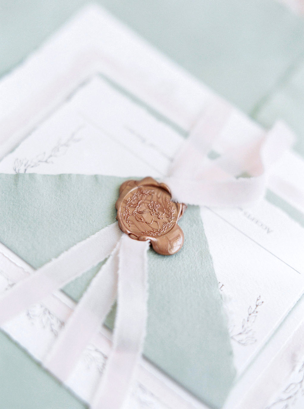 Custom Wax Seals for Wedding Invitations | Wax Seals & Artisaire ...