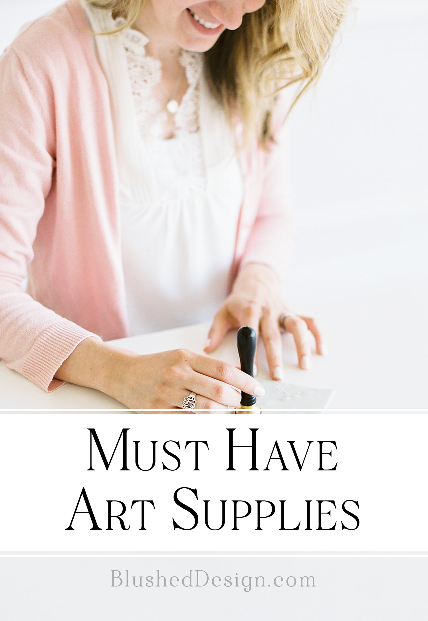 Must Have Art Supplies For Drawing and Painting — Blushed Design