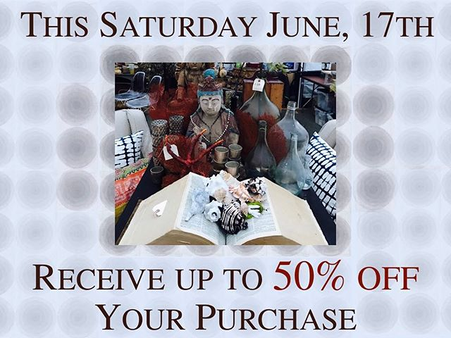 Stop by Filthy Gorgeous for our Summer Sidewalk Sale. Doors open at 10AM and we would love to see you! #ComeVisitUs in #OurNeckOfTheWoods #Summer #Sale #BargainShopping  #GreatDeals and #Steals #50%Off #HappyFathersDay #FilthyGorgeous