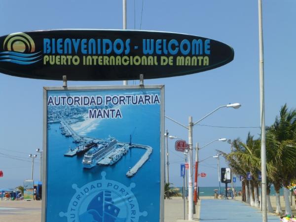 Manta Ecuador on the Boardwalk