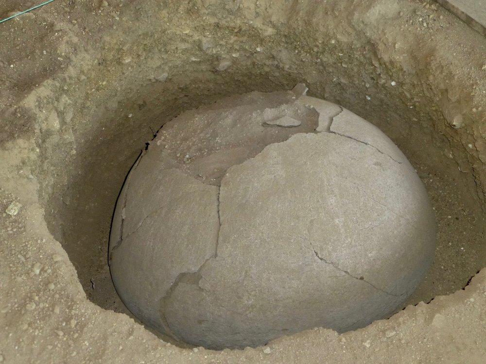 Agua Blanca Burial Urn