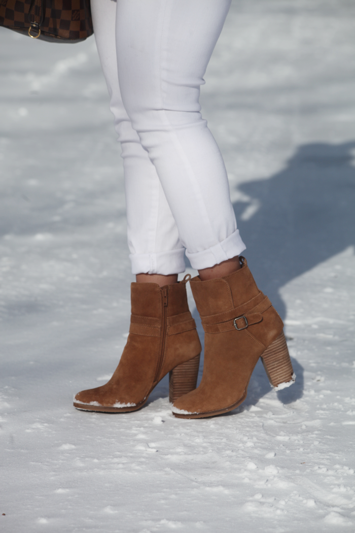 Buckle Booties for fall and winter.