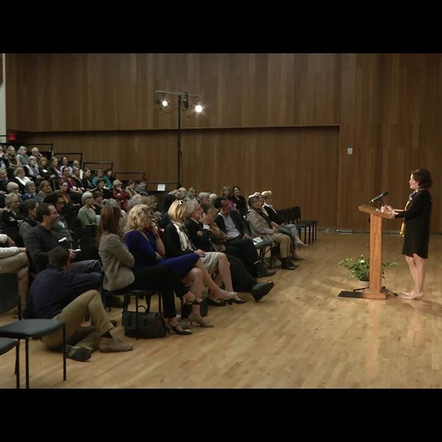 #tbt to a great talk we captured, given by Margaret Trudeau at McMaster in Hamilton on her experiences with MH.