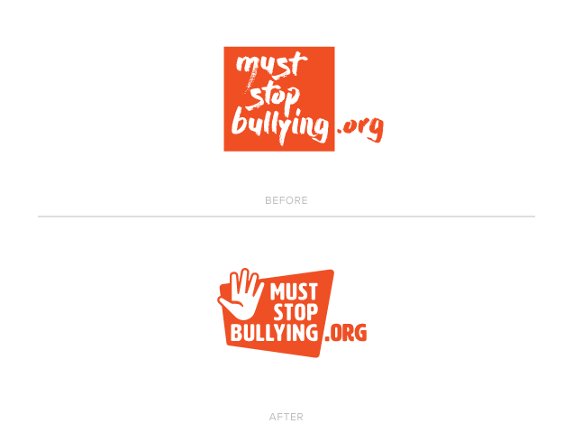 2018 MustStopBullying.org Logo Redesign