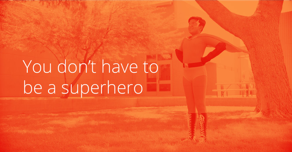 Facebook Creative  | Superhero