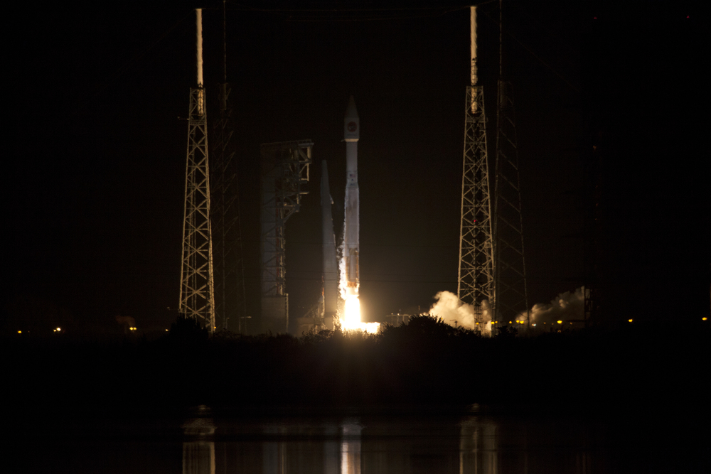 Cygnus is launched by an Atlas V, one of two rockets that can carry the spacecraft to orbit. Photo Credit: NASA