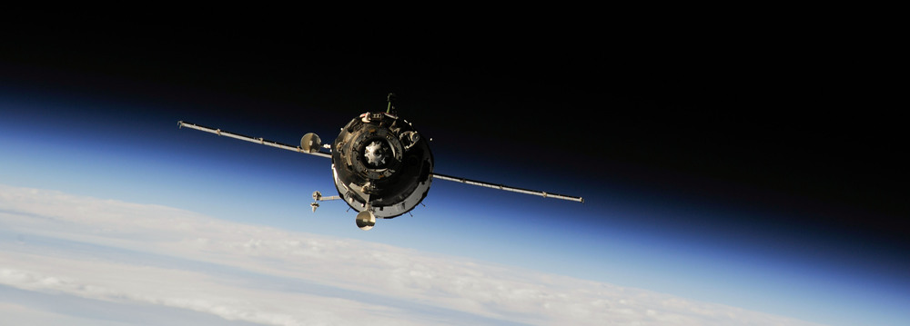 Soyuz TMA-13M approaches the International Space Station. Photo Credit: NASA
