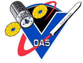 The mission patch for the OA-5 mission. Image Credit: Orbital ATK