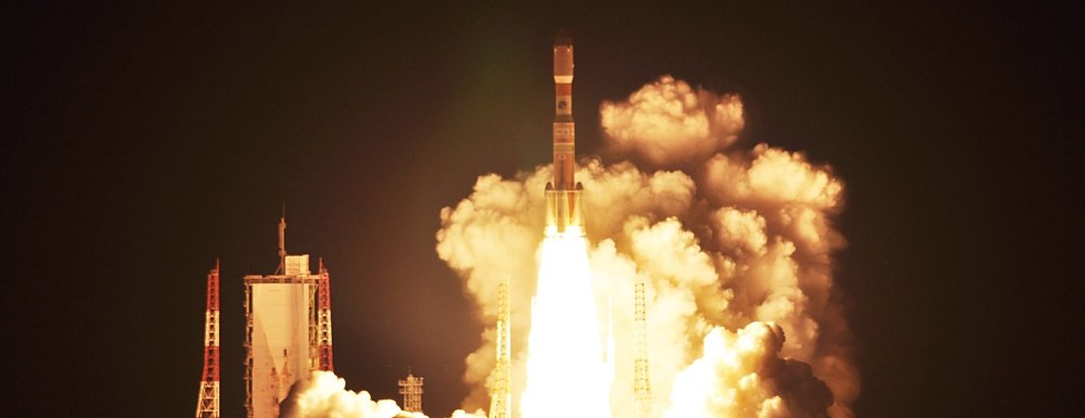 Kounotori 5 launches from the Tanegashima Space Center in Japan. Credit: JAXA
