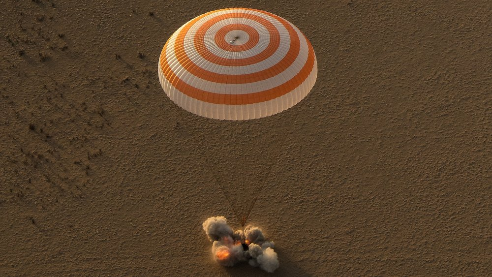 Expedition 52 Soyuz MS-04 Landing. Photo Credit: Bill Ingalls / NASA