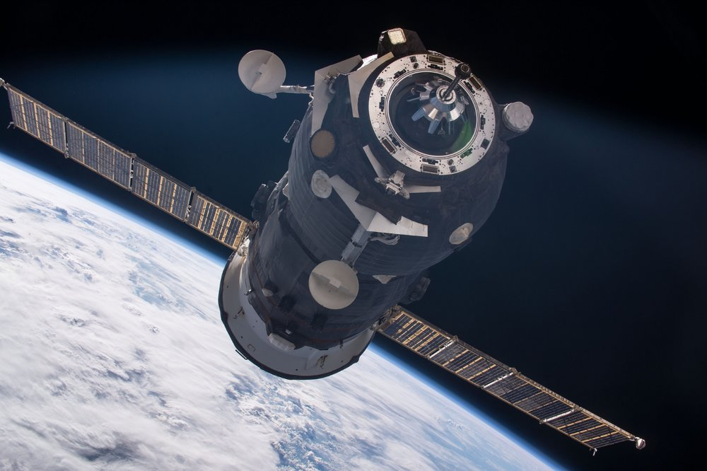 File photo of an unpiloted Russian cargo craft. Credit: NASA
