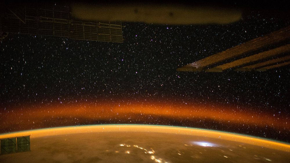 An orbital sunset as seen from the ISS. Credit: NASA