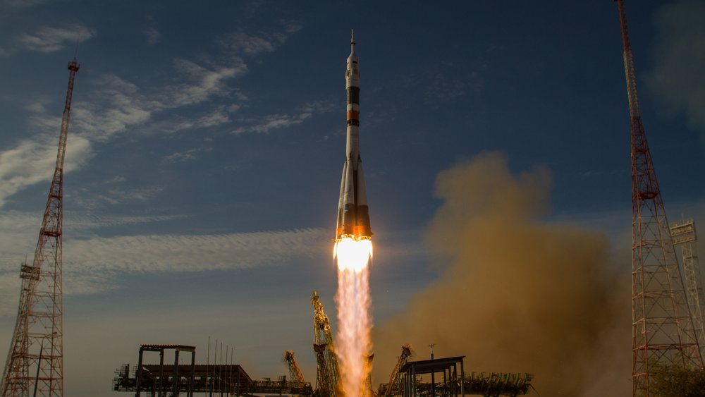 File photo of a Soyuz-FG rocket launching a Soyuz spacecraft into orbit. Credit: NASA