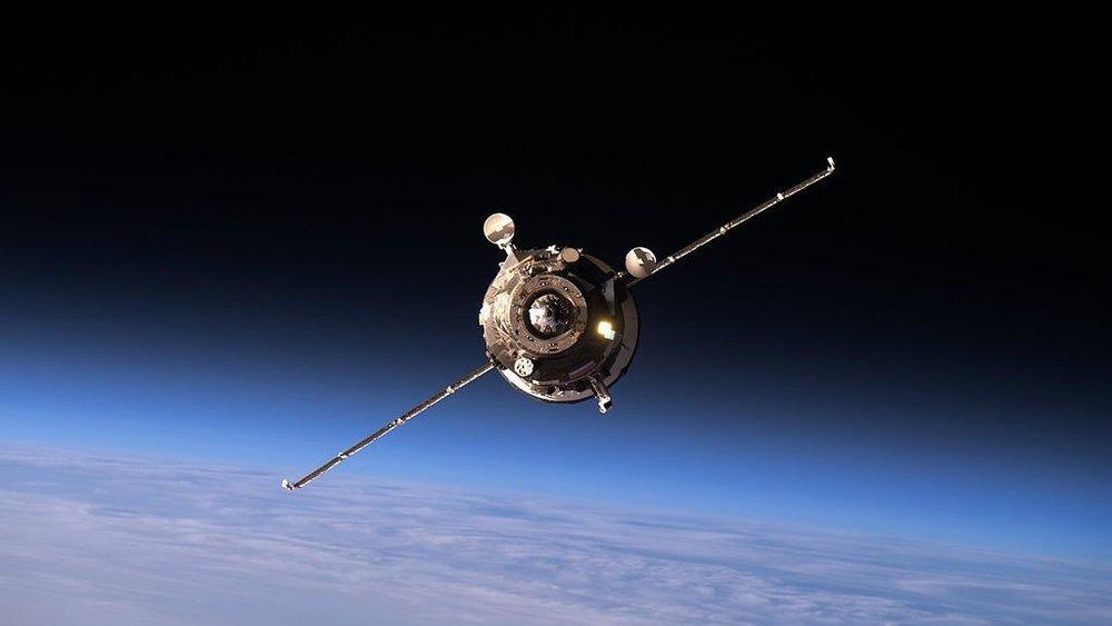 File photo of a previous Progress spacecraft. Credit: NASA