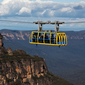 Visit to Scenic World & ride the worlds steepest incline railway