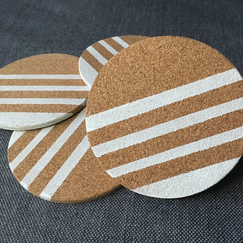 1-Color Stripe (White)