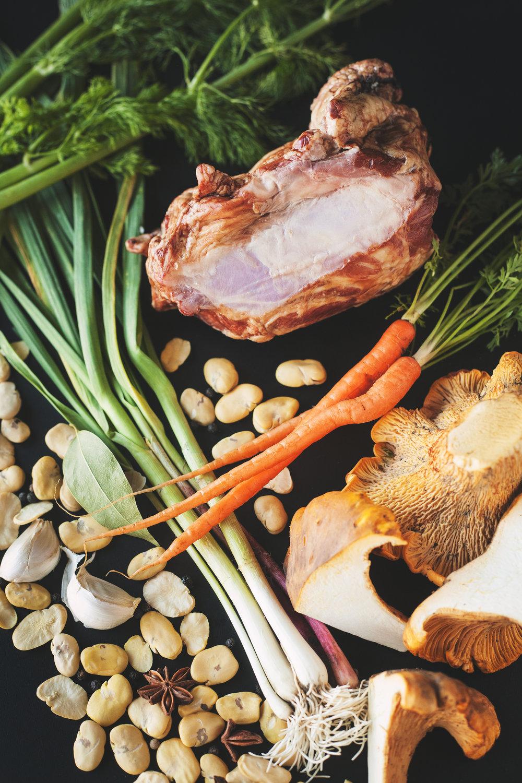 Ham hock soup recipe