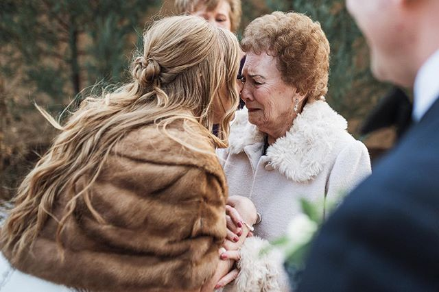 Reason 1,765,843 why I love my job: moments like this accidental first look that Bailee had with her Grandma. I would give anything to have photos like this with my grandparents (who are all in heaven now). To be able to provide them for my couples reminds me how important it is to be ready at every second on a wedding day to allow the day to unfold naturally. I love my timelines, but these are the moments we can't orchestrate. Priceless. #becomingbickers  @villa_parker @marileegrace_wedding @thebridalcollection @martinalianabridal @angelic_bliss__ @kaceyclarkmakeup . . . . . .  #coloradowedding#parkerwedding#villaparker #villaparkerwedding #winterwedding#coloradofallwedding#1888ad#tribearchipelago#lookslikefilm#coloradoweddingphotographer#modernwedding#modernbride#denver#denverbride#denvergroom#coloradoweddingphotographer#denverweddingphotographer#wedding#lookslikefilm#weddingphotography#denverwedding#coloradowedding#liveauthentic#coloradophotographer#classyweddingphotos#hipsterwedding