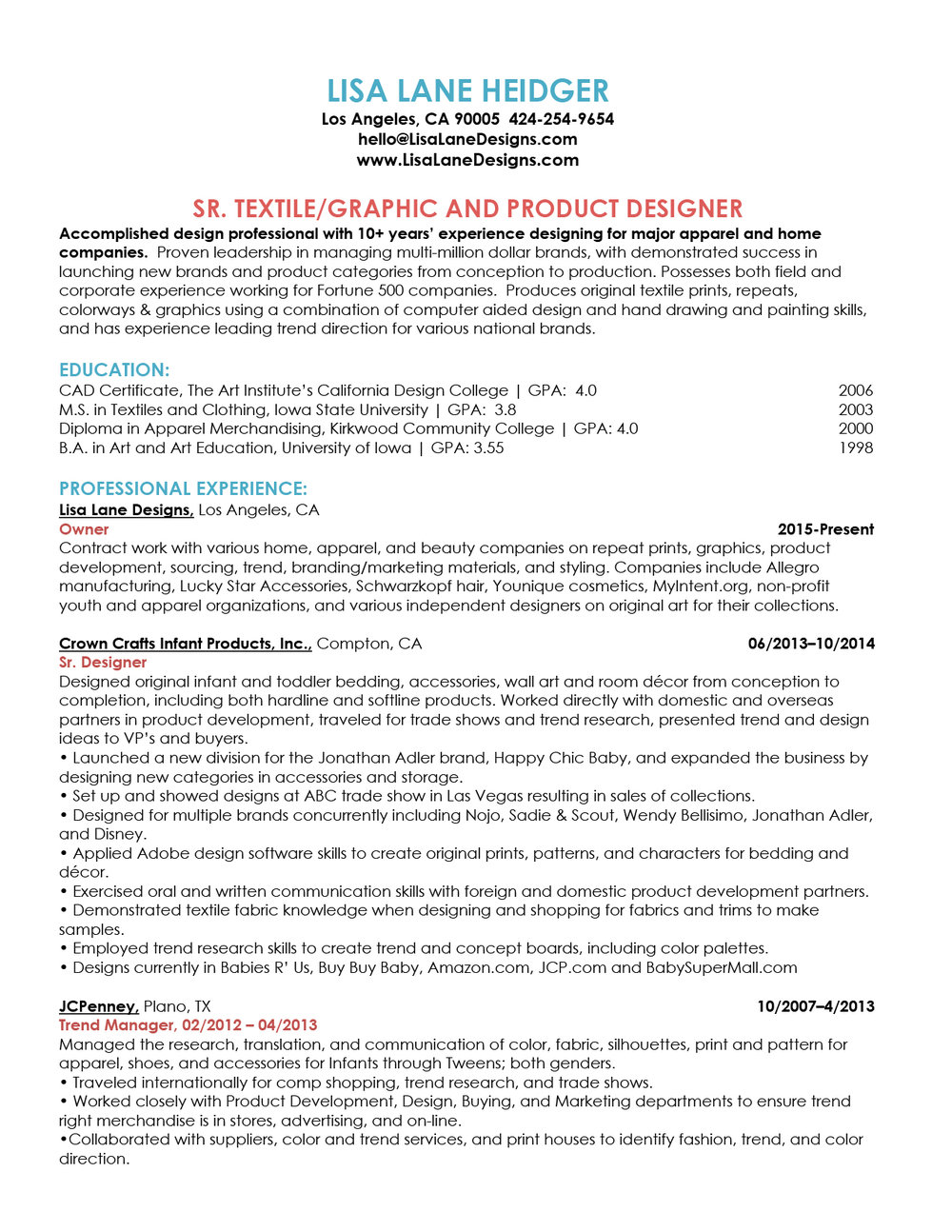 Lisa Lane Heidger website resume 2016-pg1.jpg