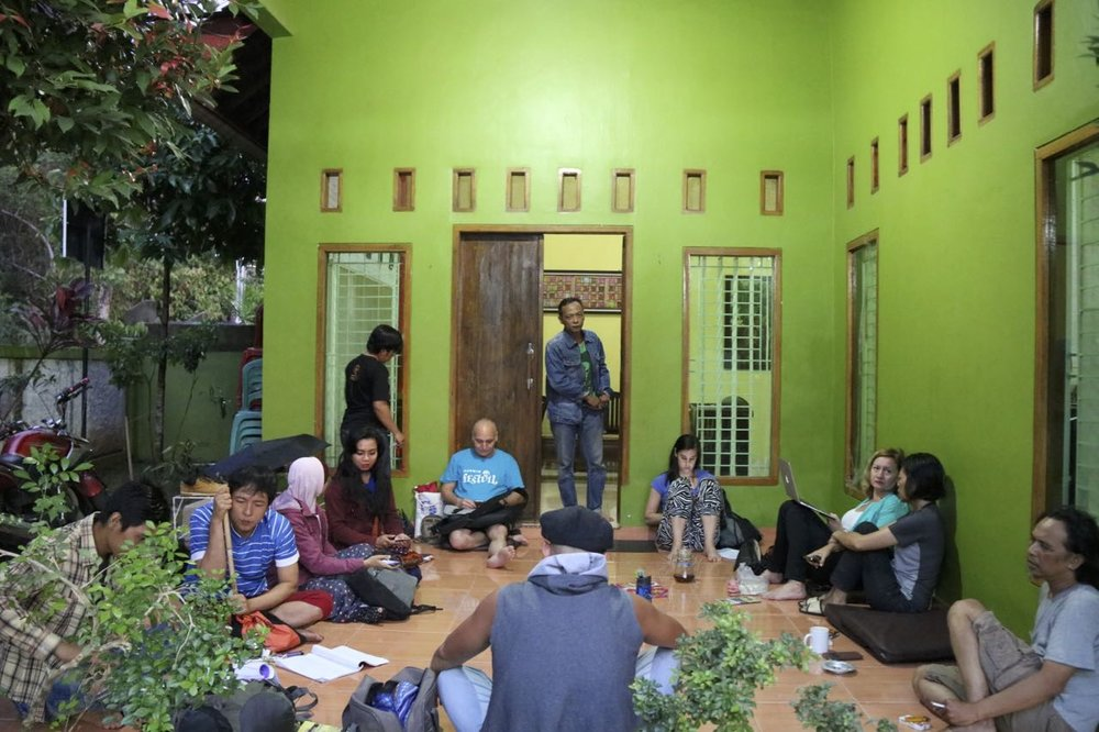 Team meeting at Imas and Iswadi's House | Lampung, Indonesia