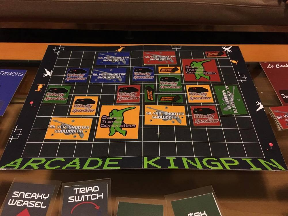 Arcade Kingpin Jeff Hui - Digital board game table
