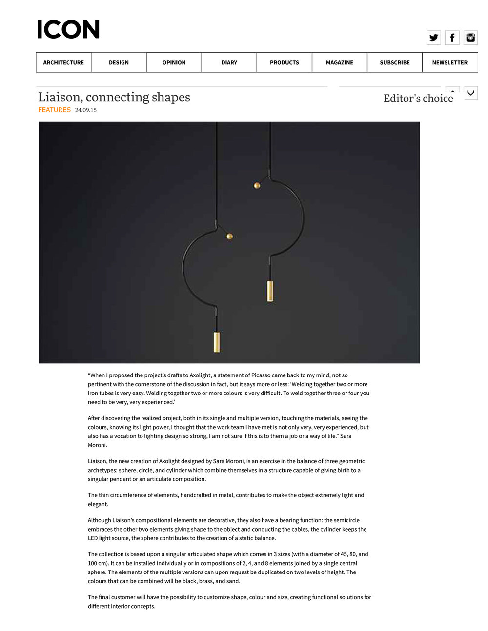 Iconeye | Liaison, connecting shapes