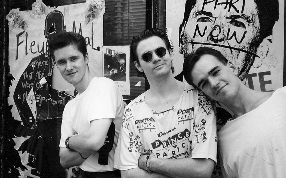 Richard, Paul McDermott & Tim Ferguson, New York City, 1988.