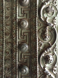 The Indian Door of the Hagia Sophia (  photo by the author).