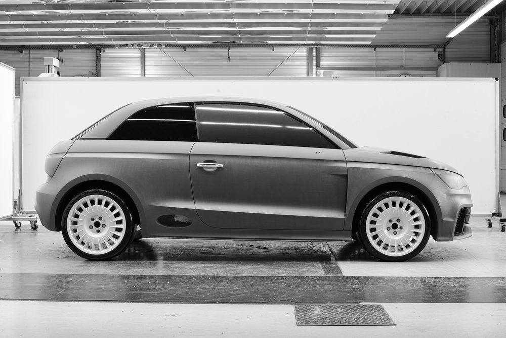 Working on a Model at the Clay Department  Client: Audi