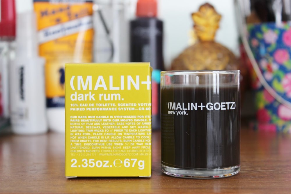 Malin + Goetz Dark Rum Candle  (Photo:  Tales Of A Pale Face )