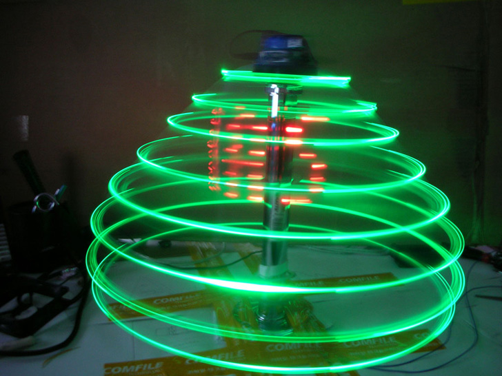 DIY122 LED Christmas Tree (Photo: Zedomax)