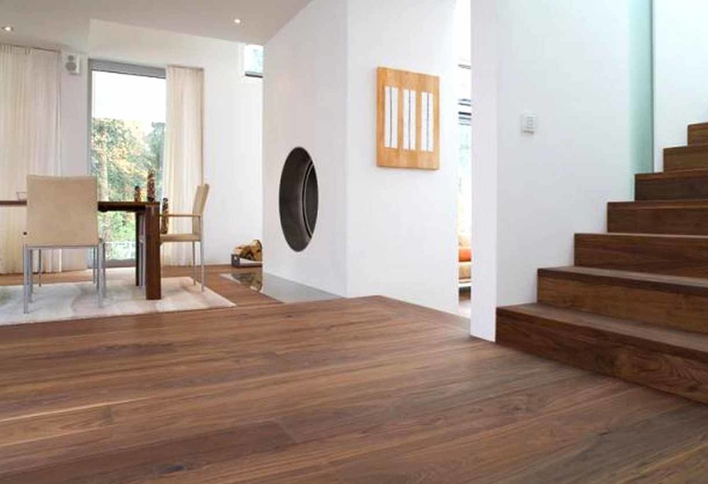 High End - Richmond Engineered Walnut  (Image: poshflooring.co.uk)