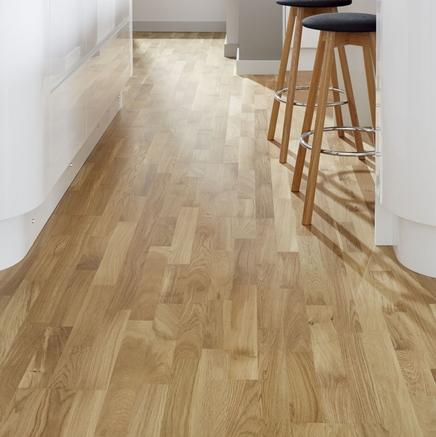 Low End - Burnbury Engineered Farmhouse Oak  (Image: poshflooring co.uk)