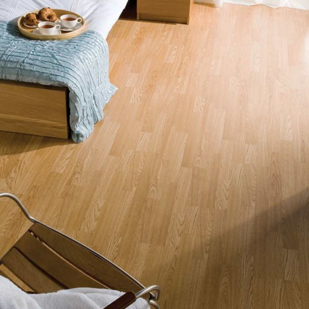 Low End - Original Kronofix Royal Oak  (Image: poshflooring.co.uk)
