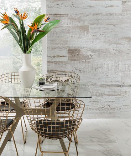 Mid Range - Jamari White Tile  (Image: Topps Tiles)