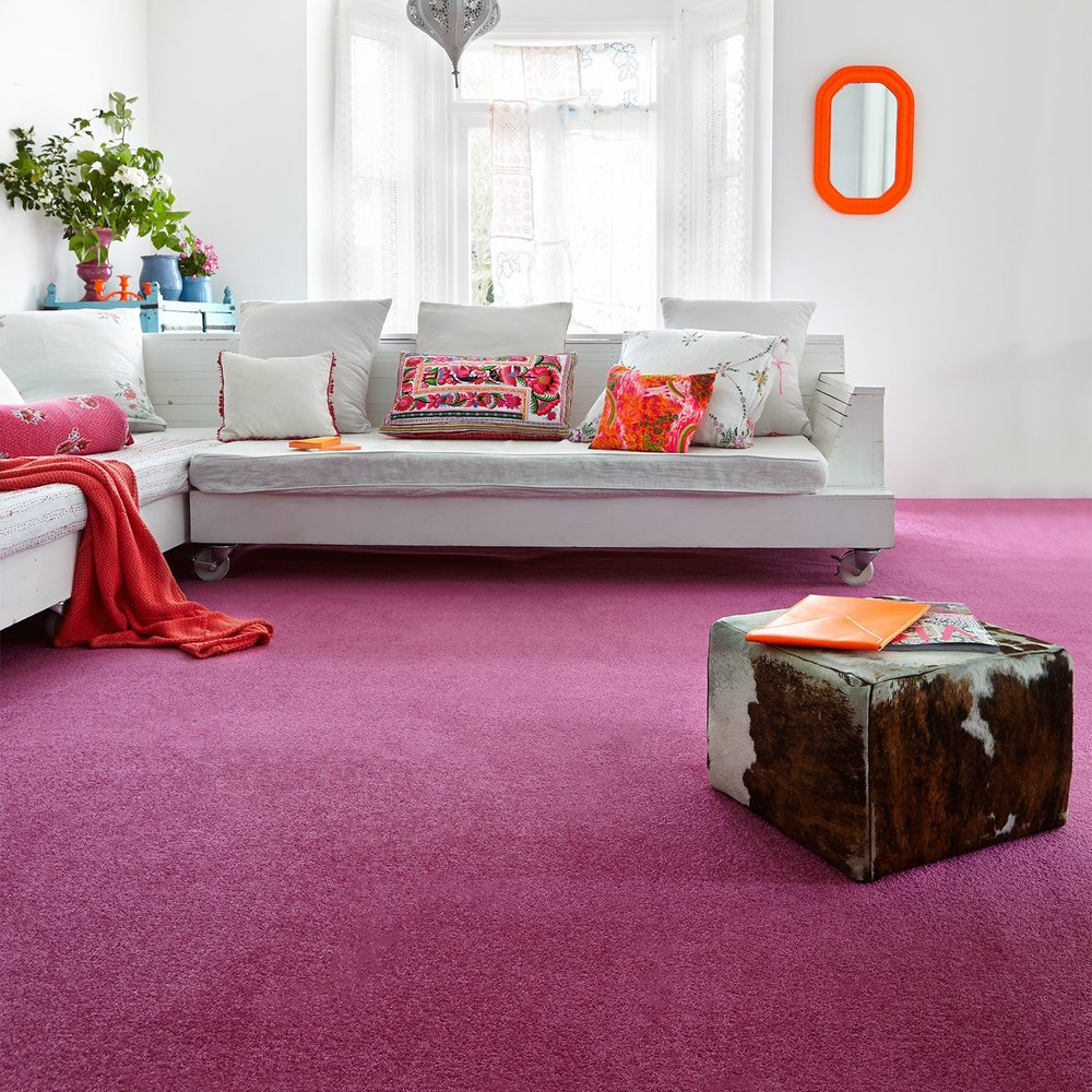 Low End - Amberley Twist Plain Carpet  (Image: Carpet Right)
