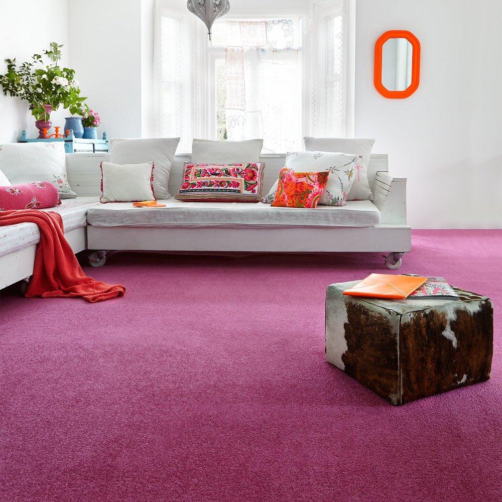 Low End - Amberley Twist Plain Carpet  (Image: Carpet Right)