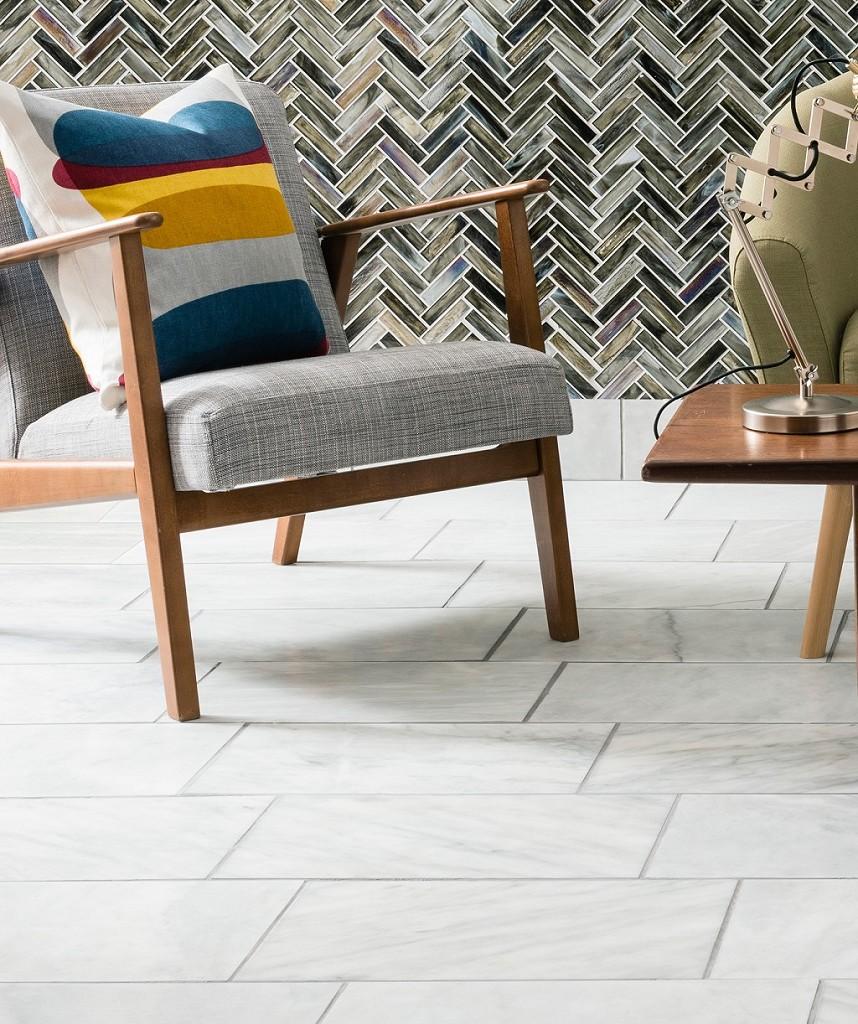 Low End - Serac Honed Tile  (Image: Topps Tiles)