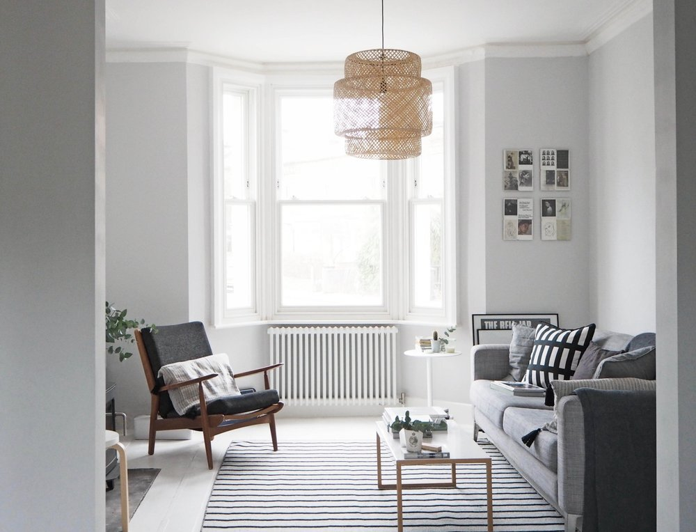 The cool of grey interiors is so versatile  Image:  Cate St Hill