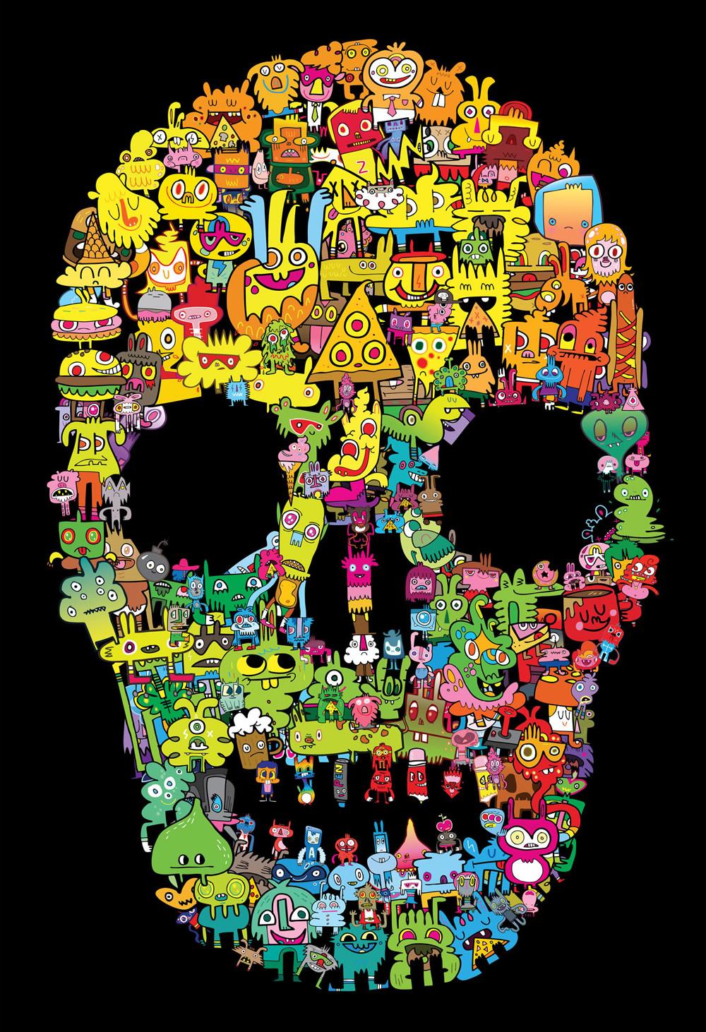 Jon Burgerman Skull.jpg