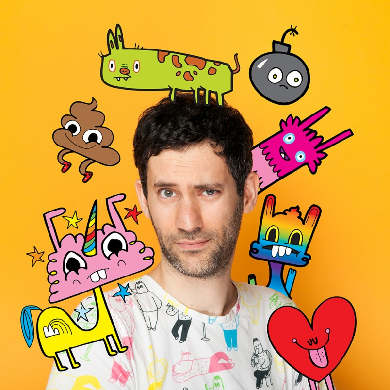 The Artist,  Jon Burgerman