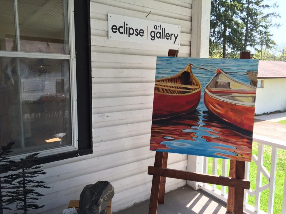 Ellen Cowie | Eclipse Art Gallery Rosseau