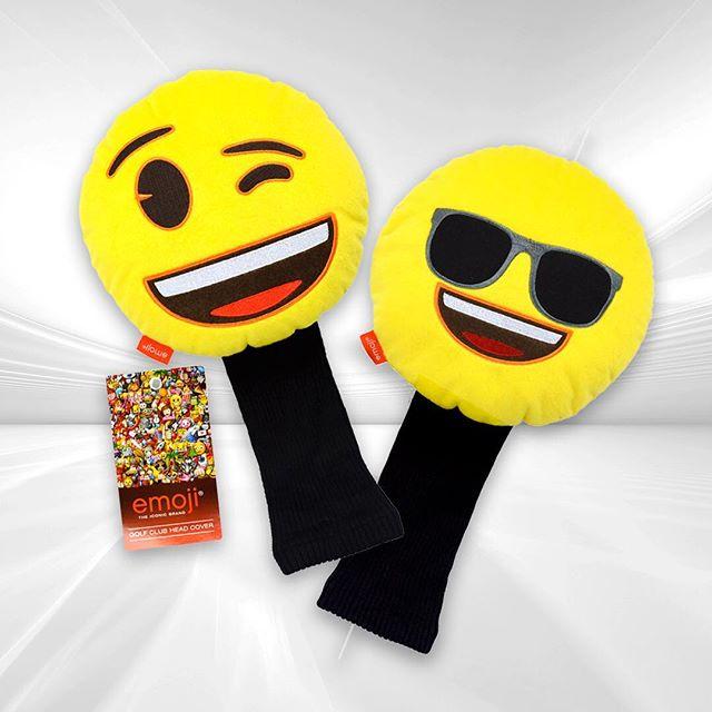 Vilken e-moji skulle du vilja ha som headcover...? 🤷♀️🤷♂️ #dormygolf #emoji #headcover #julklappstips