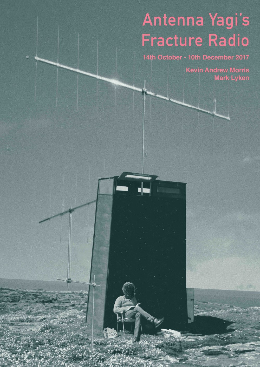 "I have a collaborative exhibition opening with ceramacist Kevin Andrew Morris at the Suttie Arts Space, Aberdeen.  ""Antenna Yagi's Fracture Radio"" opens on Oct 14th & runs until 20th December.   GHAT-ART.ORG.UK"