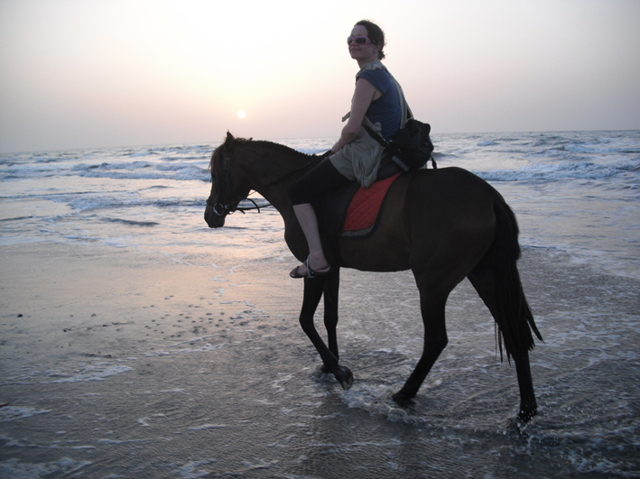 Anna on sunset trot.jpg