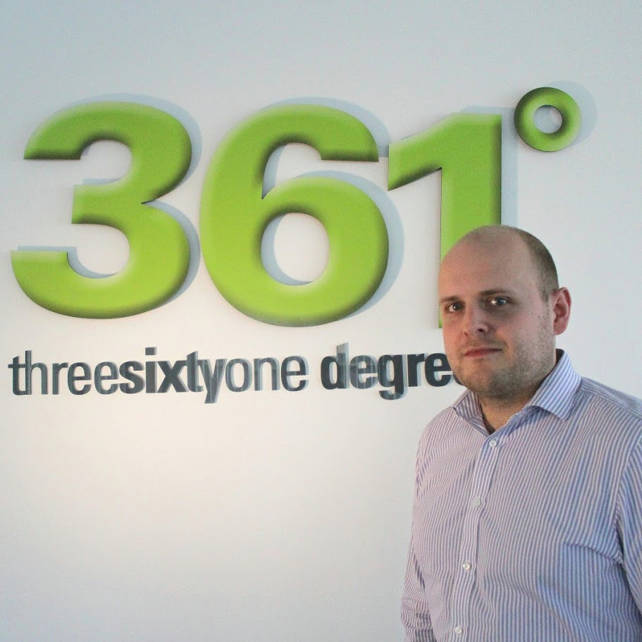 361 Degrees Mike Farmer Head of Technical